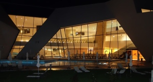 The therme at night