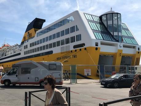Ferry Bastia to Nice