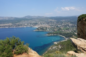 Cassis from Chemin des Cretes